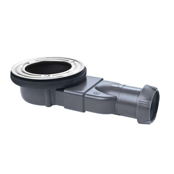Voorkeur Axel Stone lage douchebakafvoer - 58mm hoog - voor douchebak met OH58