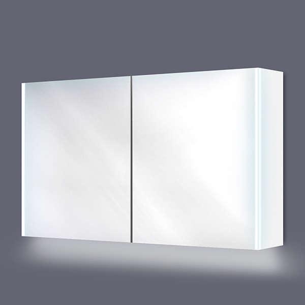 Bellanti civetta spiegelkast 120x70cm met verticale for Watt verlichting den haag