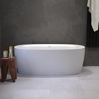 Alesso Donna vrijstaand bad acryl 160x80x59cm